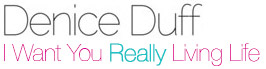 Denice Duff : Really Living Life Logo