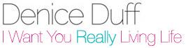 Denice Duff : Really Living Life Logo